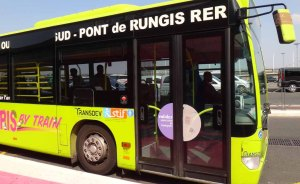 Paris by Train shuttle bus to Pont de Rungis